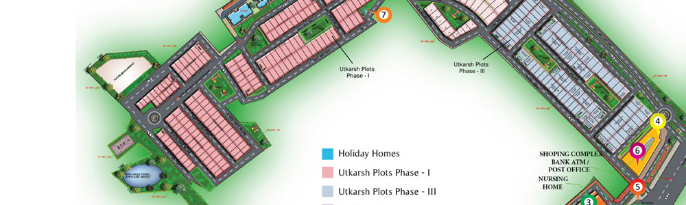 Holiday Homes Site Layout